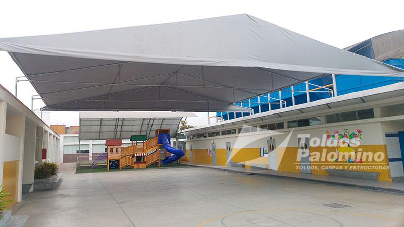 Toldos carpas y estructuras palomino per for Estructura de toldo