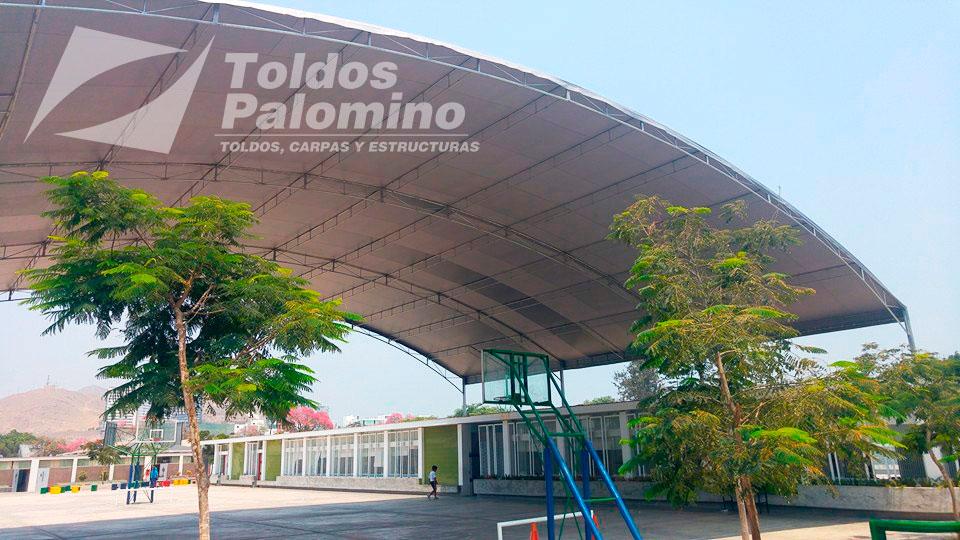Toldos carpas y estructuras palomino per for Plafones de techo y pared